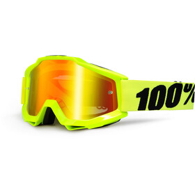 100% Accuri Anti Fog Mirror Goggles gul